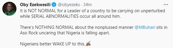Oby Ezekwesili demands an Independent Medical Evaluation of President Buhari