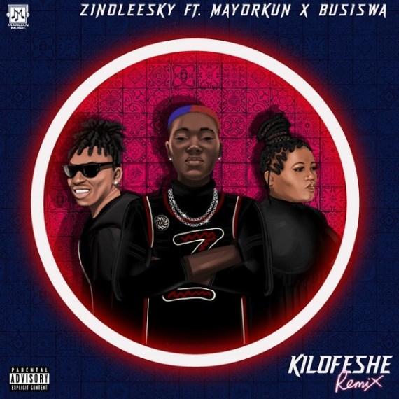 Zinoleesky – Kilofeshe (Remix) ft. Mayorkun, Busiswa