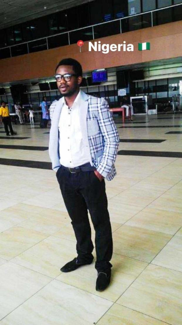 """""""The day I left vs now"""" Medical doctor shares photo of his transformation after leaving Nigeria for another country"""