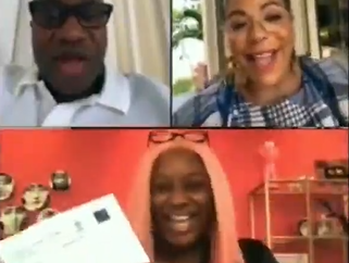 """I got in!"" DJ Cuppy films moment she informed her parents that she has been accepted into Oxford University for her Masters"