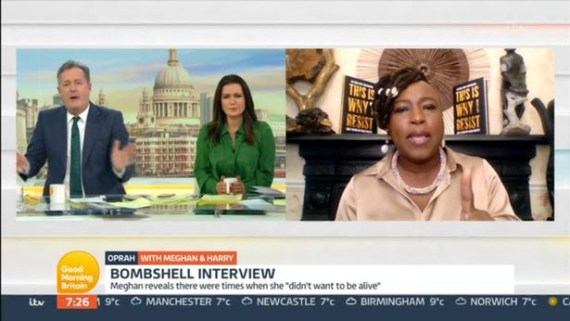 You?re disgusting and a liar - Author and women?s right activist, Dr Shola Mos-Shogbamimu slams British media personality Piers Morgan on live TV (video)
