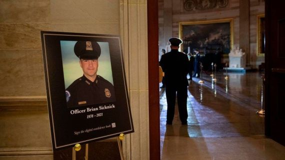 Ceremony honouring Officer Brian Sicknick