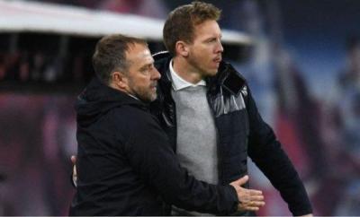 Julian Nagelsmann is set to replace Hansi Flick at Bayern