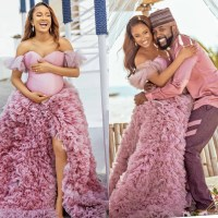Banky W And Adesua Testify of How They Struggled With Having A Child, Lost A Set of Twins, Went Through IVF Procedures