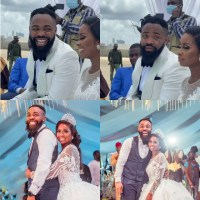 Photos/Videos From Comedian Arole's Wedding Ceremony