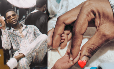 Singer Kizz Daniel welcomes a set of twins on his 27th birthday