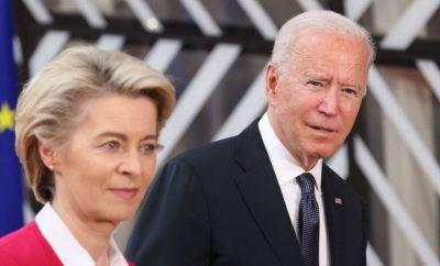 EC President Ursula von der Leyen and US President Joe Biden