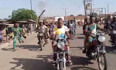 Sunday Igboho storms Igangan over killings and attacks