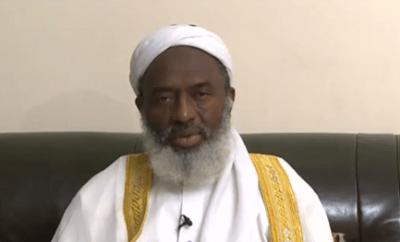 it is unfair to compare herdsmen to IPOB because they only kidnap children for money while the secessionists kill security agents -  Sheik Gumi (video)