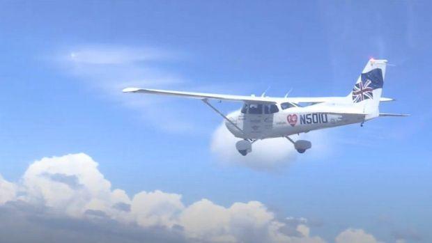 Travis Ludlow's aircraft