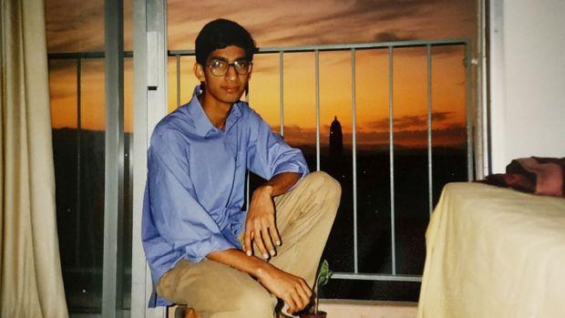 Sundar Pichai in a Stanford University dormitory in 1994