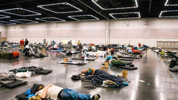 the Oregon Convention Center in Portland