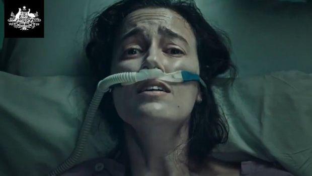 Screenshot taken from an Australia Government video