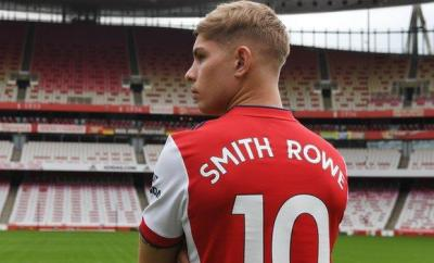 Smith Rowe will wear the number 10 shirt for Arsenal in the upcoming season