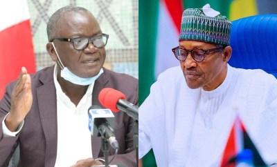Arrest Fulani herdsmen especially Miyetti Allah leaders same way you  arrested Nnamdi Kanu - Governor Ortom tells Buhari (video)