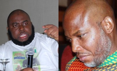 I promised I will smoke you out. You demanded that all Biafrans pay you monthly or risk not being allowed into Biafra - Asari Dokubo mocks Nnamdi Kanu over his arrest