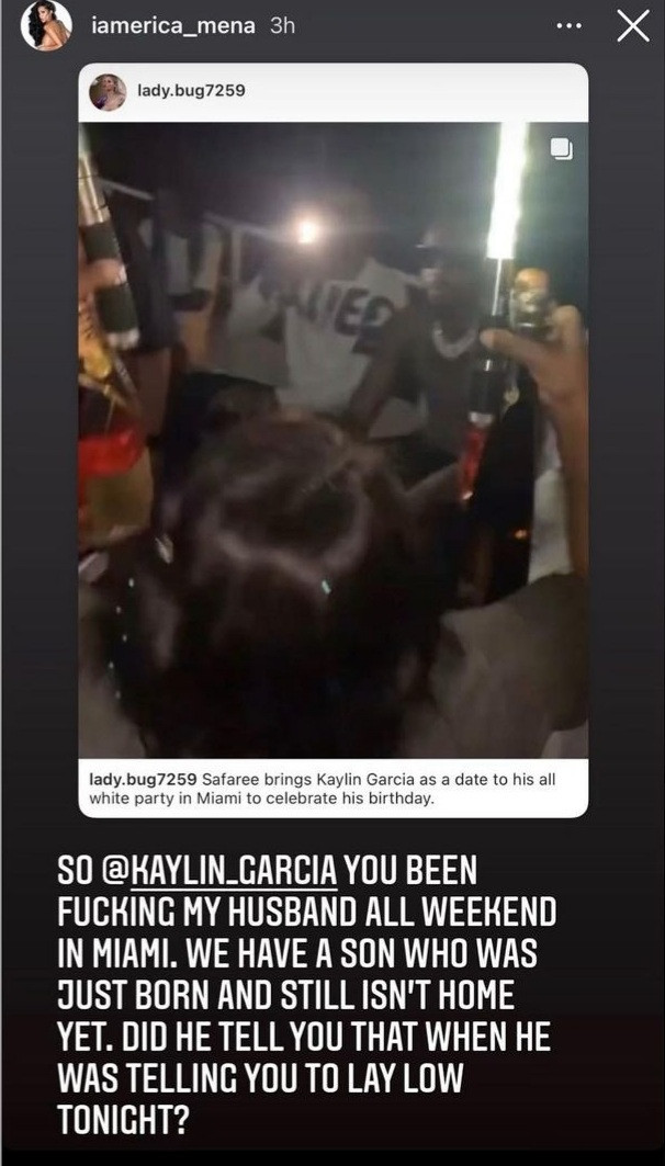 """""""You been f***ing my husband all weekend in Miami"""" Erica Mena accuses Kaylin Garcia of having sex with Safaree"""