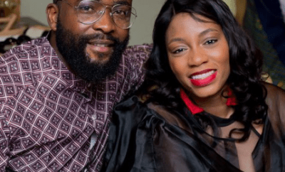 BBNaija star, Gedoni Ekpata, celebrates two years of meeting his housemate turned wife, Khafi on the reality TV show