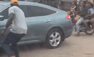 No traffic signs, no stop lights - American gospel singer, Byron Cage shares his traffic experience in Lagos (video)