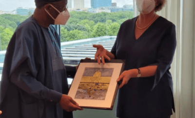 FG demands full and unconditional return of looted artefacts from Germany (photos)