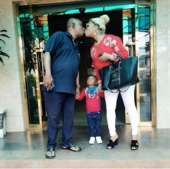 You are the best father/mother I could ever pray for - Tonto Dikeh celebrates her father on his 73rd birthday