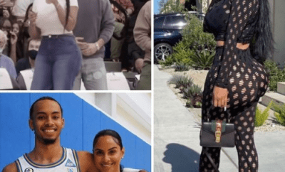 Twitter erupts as Drake rents out whole stadium for date with basketball player Amari Bailey?s mom, Johanna Leia (photos)