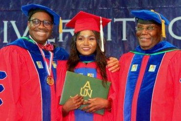 Chibok school girl bags Accounting degree seven years after she was abducted by Boko Haram members (photos)