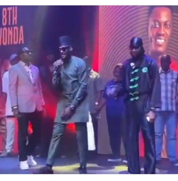 Tuface, Blackface, and Faze reunite to perform at their late friend Sound Sultan