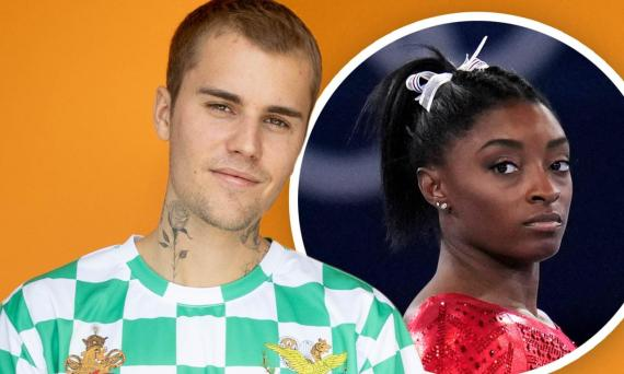 Justin Bieber reaches out to Simone Biles after she pulled out from the gymnastics finals at the Tokyo 2020 Olympic