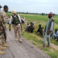 Boko Haram And ISWAP Fighters Surrender To Troops [Photos]