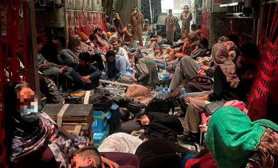 Italian evacuation flight from Kabul to Rome (28 August)