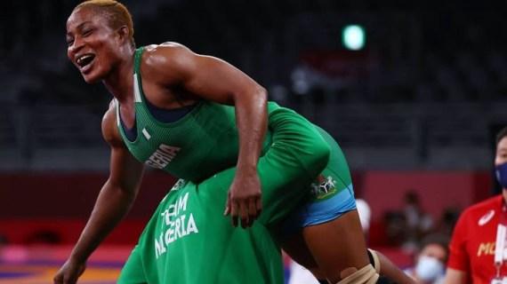 Tokyo 2020: Nigeria to finally get a medal as Blessing  Oborodudu reaches wrestling final
