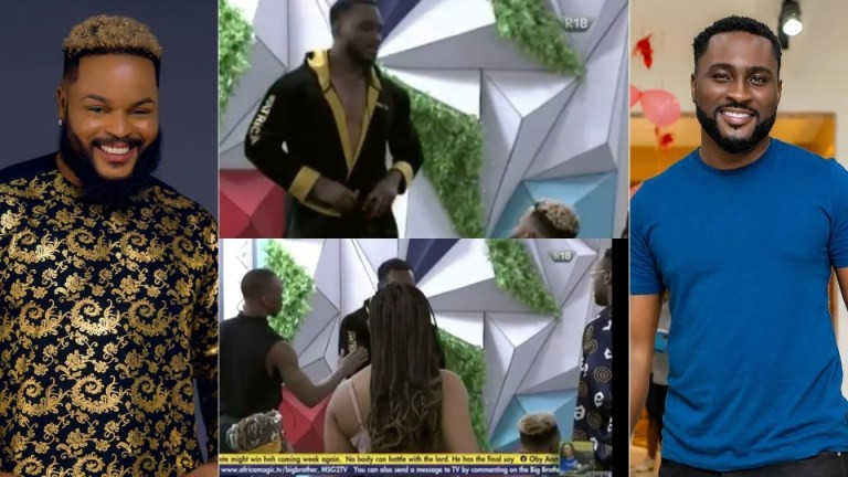 #BBNaija: Whitemoney and Pere clash after game night (videos)