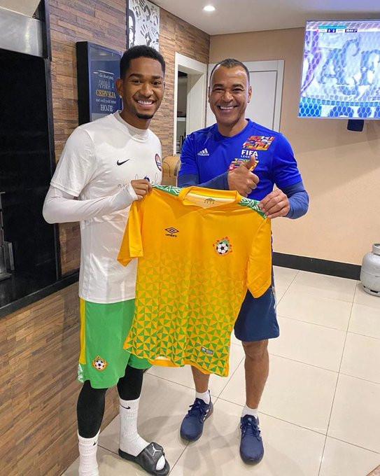 Kwara United Brazilian player, Lucas Alves presents the club