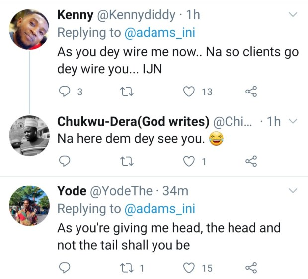 Hilarious reactions as Twitter user says