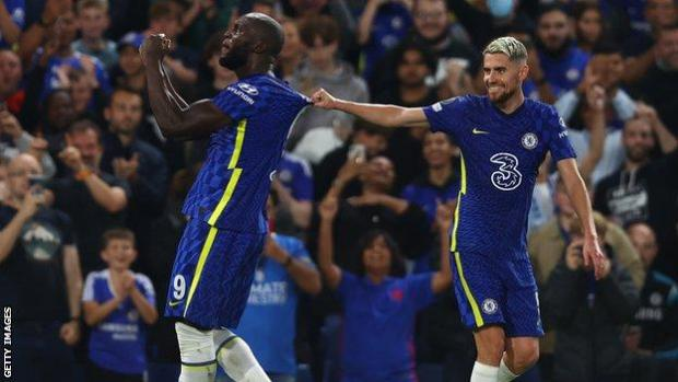 Lukaku's header was his first ever goal for Chelsea in the Champions League