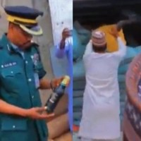 Hisbah Police Intercepts Truck Carrying 3600 Bottles of Beer Covered With Bags of Chicken Feed in Kano [Video]