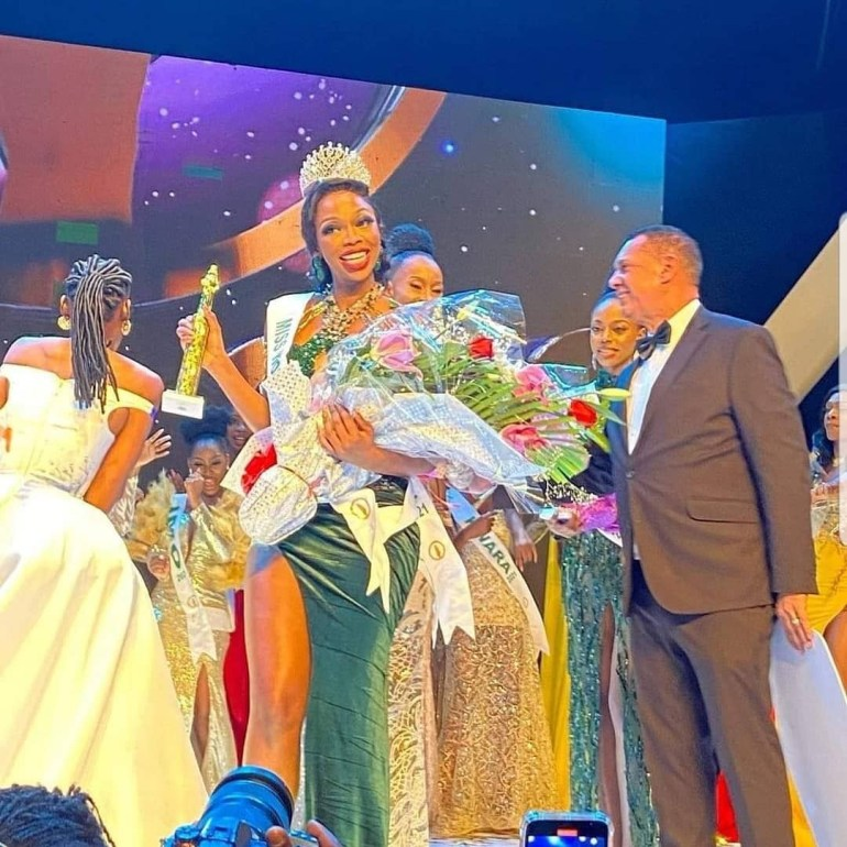 Miss Abuja, Oluchi Madubuike, is crowned Most Beautiful Girl in Nigeria 2021 (video)