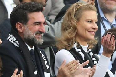 Yasir Al Rumayyan - the governor of the Public Investment Fund and Newcastle's non-exec chairman - joins part-owner Amanda Staveley