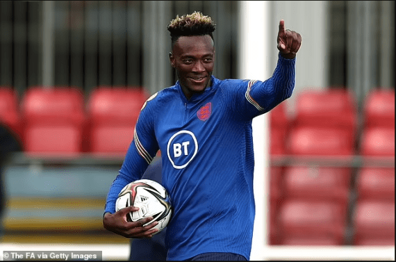 Tammy Abraham becomes the first England footballer to confirm he