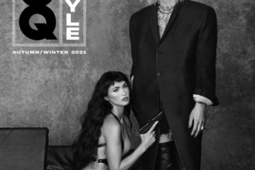 Megan Fox poses without pants in intimate shoot with Machine Gun Kelly (photos)