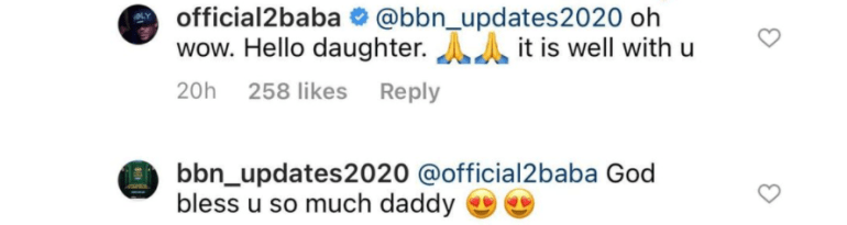 Lol! Between Tuface and a lady claiming to be his daughter