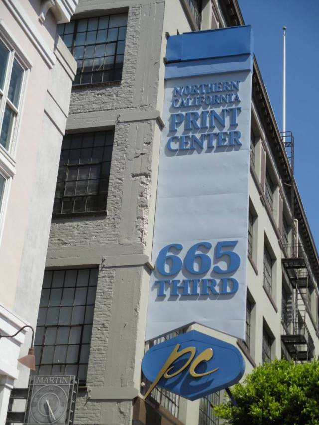 The building at 665 Third used to be a print center, but is now offices