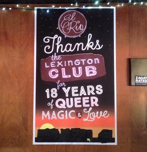 Party Radar, SF Nightlife, El Rio, Lexington Club