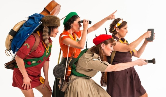 Age of discovery: Real Vocal Quartet plays the Switchboard Festival, Sat/4