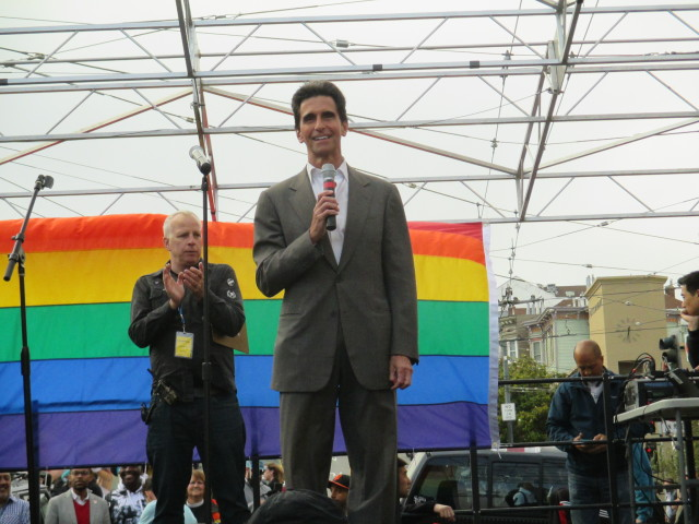 State Sen. Mark Leno tried twice to get a former governor to sign a marriage equality bill