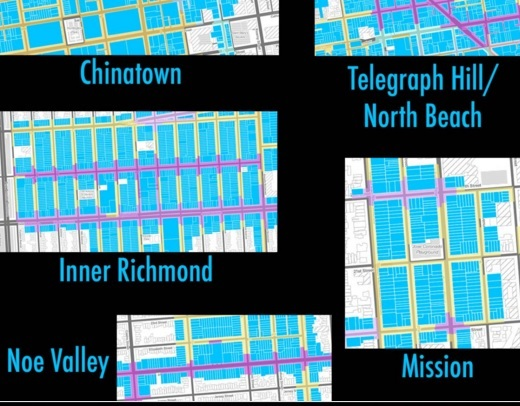 This graphic from People Power Media shows some of the neighborhoods that will be impacted