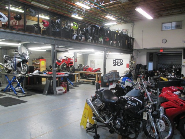 Moto Guild is the kind of business there ought to be room for in SF. Photo by Michael Redmond
