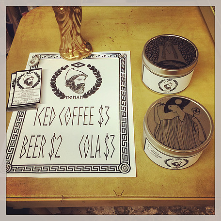 Affordably priced beverages await at Noman. Photo courtesy Noman Coffee