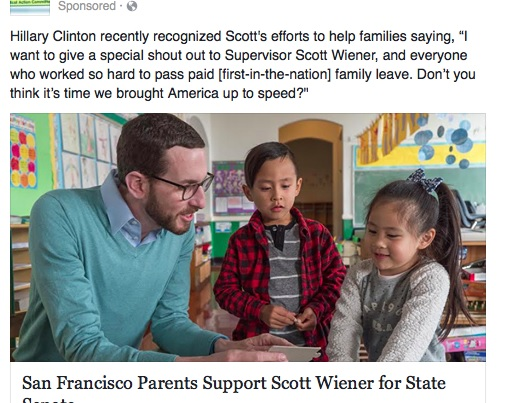 "This ""parents"" ad is paid for almost entirely by real-estate interests, including key foes of Ellis Act reform"